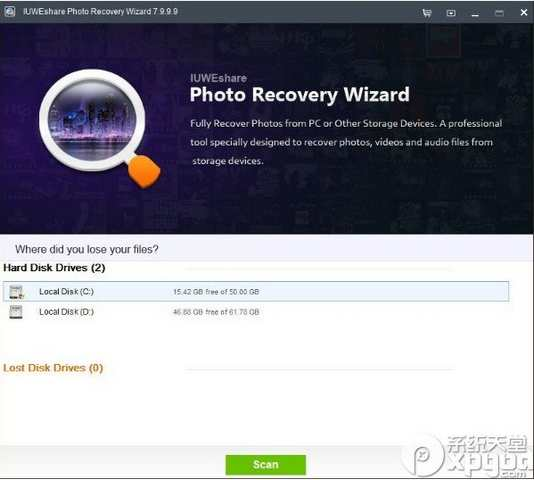 IUWEshare Photo Recovery Wizard(照片恢复软件)