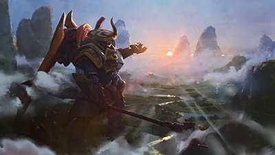 《英雄联盟》公布王国机神预告 贾克斯操控巨大机神