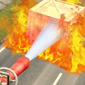 消防员救火3D