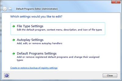 Default Programs Editor1