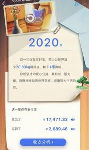 支付宝2020年账单怎么看 支付宝2020年度账单查看方法详解